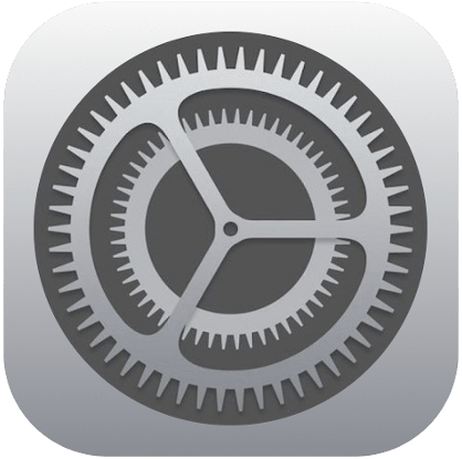 iPhone iPad Settings Icon